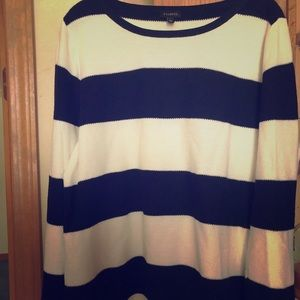 Talbots Women's Striped Sweater Size X-Large